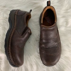Red Wing Brown Oil Resistant Shoes Size 8.5